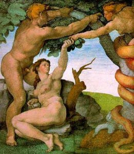 Adam and Eve with Serpent