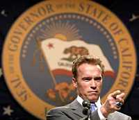 Arnold Schwarzenegger, Governor of California