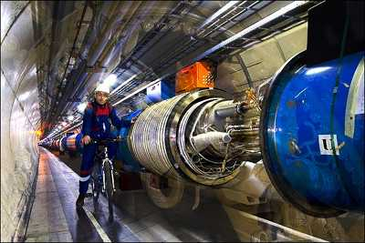 Shiva in Large Hadron Collider