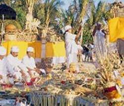 Priest performing Marriage Ceremony
