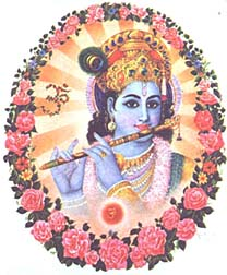 krsna and his flute