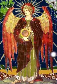 The Archangel Uriel. Click for more
